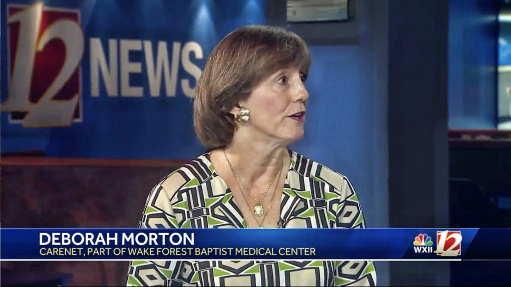 Piedmont Triad Counselor Deborah Morton on WXII 12 News