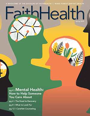 CareNet Counseling featured in the Spring 2020 edition of FaithHealth magazine
